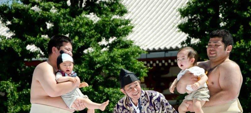 مسابقه اطفال جاپان 4 - تصاویر/ مسابقه عجیب اطفال در جاپان