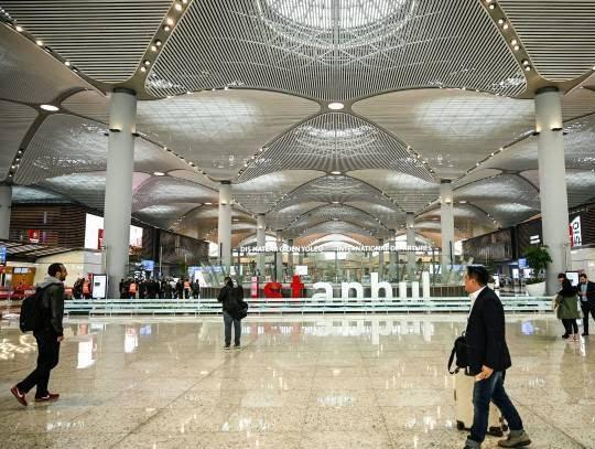میدان هوایی جدید استانبول2 - تصاویر/ افتتاح میدان هوایی جدید استانبول