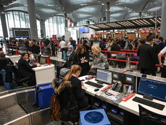 میدان هوایی جدید استانبول5 - تصاویر/ افتتاح میدان هوایی جدید استانبول