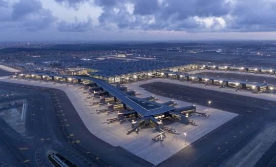 میدان هوایی جدید استانبول7 - تصاویر/ افتتاح میدان هوایی جدید استانبول