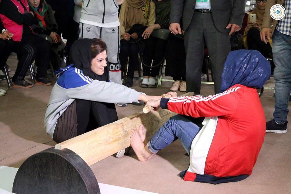 میس رستلینگ 1 - برگزاری نخستین دوررقابت های میس رستلینگ بانوان در کابل