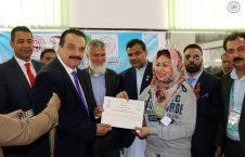میس رستلینگ 2 226x145 - برگزاری نخستین دوررقابت های میس رستلینگ بانوان در کابل