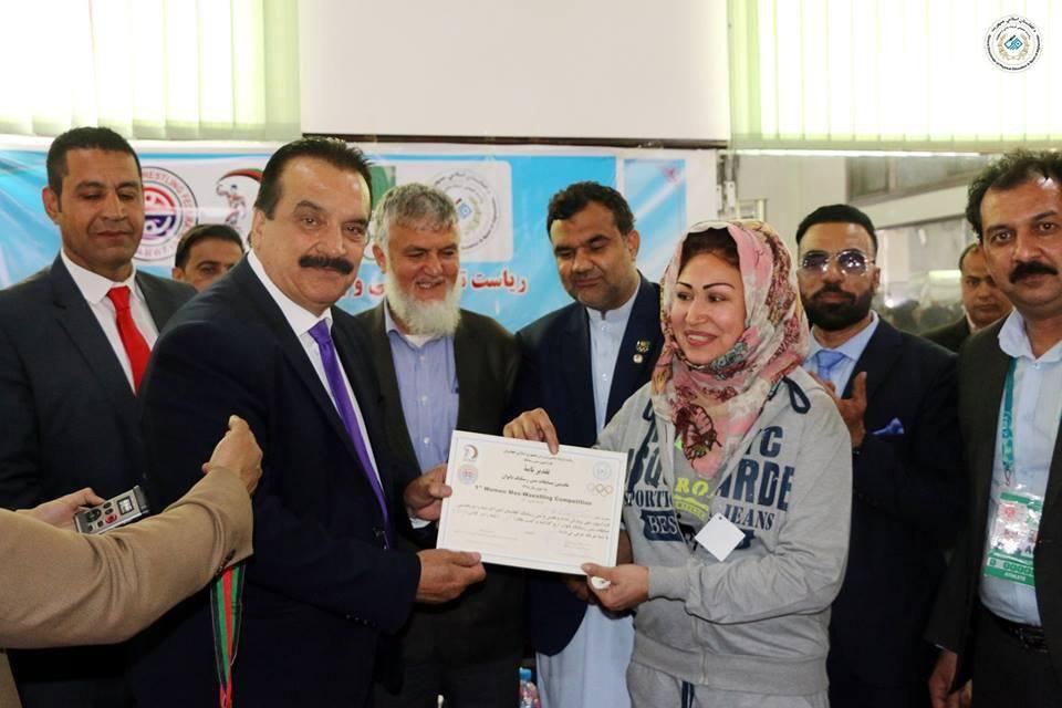 میس رستلینگ 2 - برگزاری نخستین دوررقابت های میس رستلینگ بانوان در کابل
