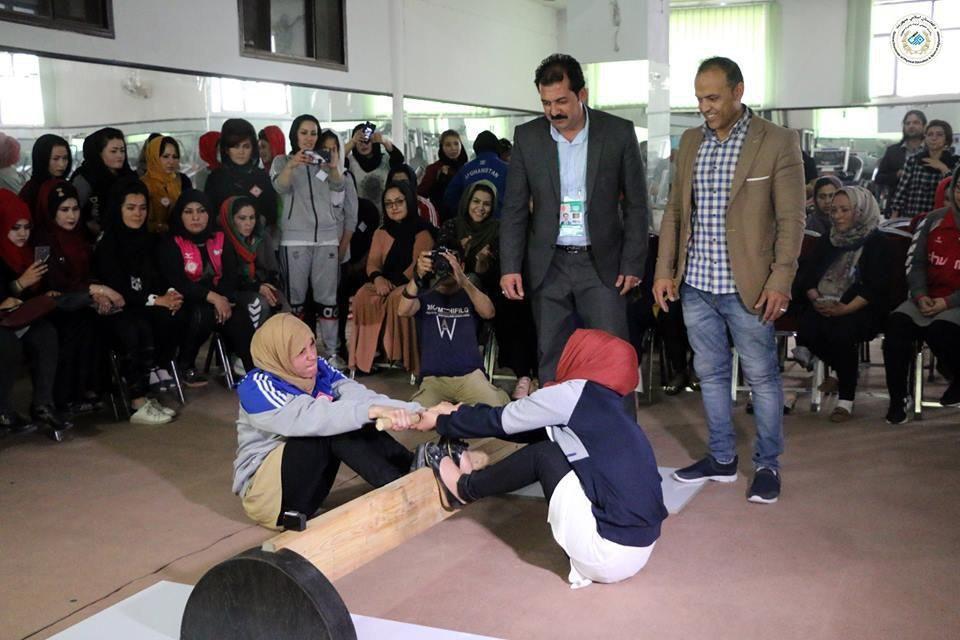 میس رستلینگ 3 - برگزاری نخستین دوررقابت های میس رستلینگ بانوان در کابل