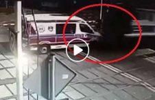 ویدیو تصادف وحشتناک امبولانس قطار 226x145 - ویدیو/ تصادف وحشتناک امبولانس با قطار