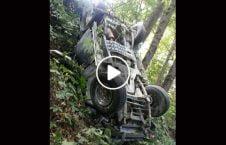 ویدیو سقوط وحشتناک راننده روس 226x145 - ویدیو/ سقوط وحشتناک راننده روس