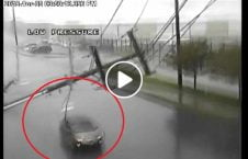 ویدیو سقوط پایه برق موتر واشینگتن 226x145 - ویدیو/ سقوط پایه برق بالای یک موتر در واشینگتن