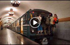 ویدیو صحنه خطرناک ایستگاه قطار 226x145 - ویدیو/ صحنه ای تکان دهنده و خطرناک در ایستگاه قطار