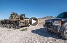 ویدیو فیر مرمی تانک به سمت موتر لندرور 226x145 - ویدیو/ فیر مرمی تانک به سمت موتر لندرور