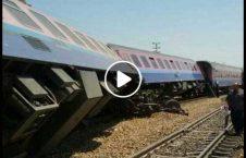 ویدیو واژگونی قطار باری امریکا 226x145 - ویدیو/ واژگونی وحشتناک قطار باری در امریکا