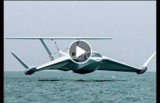 ویدیو پرواز کشتی پرنده آب 226x145 - ویدیو/ پرواز شگفت انگیز کشتی پرنده روی آب