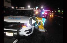 ویدیو پولیس تصادف شاهراه 226x145 - ویدیو/ افسر پولیس باعث وقوع تصادف در شاهراه شد