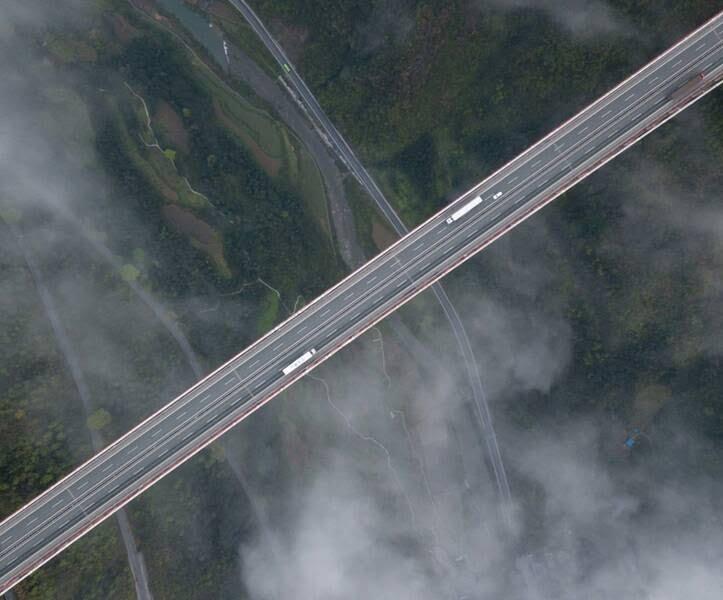 پل چین2 - تصاویر/ بلندترین و طولانیترین پل جهان