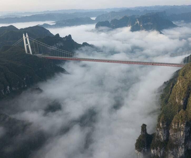 پل چین3 - تصاویر/ بلندترین و طولانیترین پل جهان