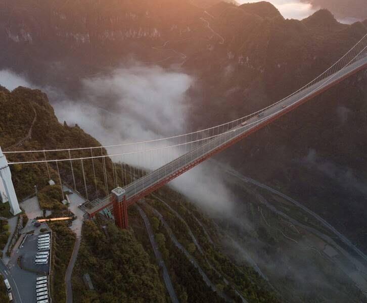 پل چین7 - تصاویر/ بلندترین و طولانیترین پل جهان