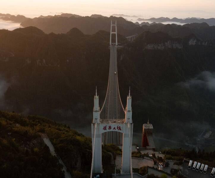 پل چین8 - تصاویر/ بلندترین و طولانیترین پل جهان