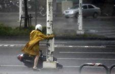 چین طوفان 226x145 - طوفان ۵۰ هزار چینایی را آواره کرد