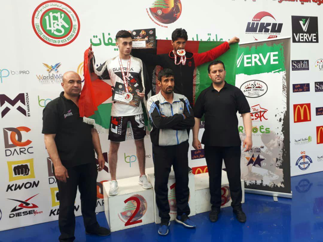 کیک بوکسینگ  - درخشش تیم ملی کیک بوکسینگ افغانستان درمسابقات قهرمانی آسیا