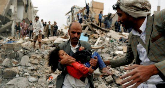 یمن 550x295 - نقش پررنگ بریتانیا در جنگ سعودیها علیه یمن