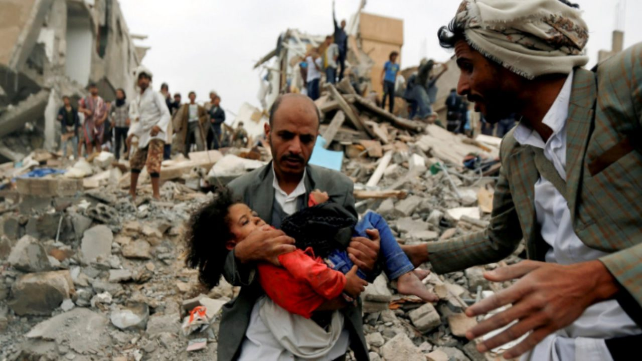 یمن - قتل عام یمنی ها با سلاح های فرانسوی