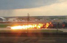آتشسوزی طیاره 9 226x145 - تصاویر/ آتشسوزی مرگبار طیاره روسی