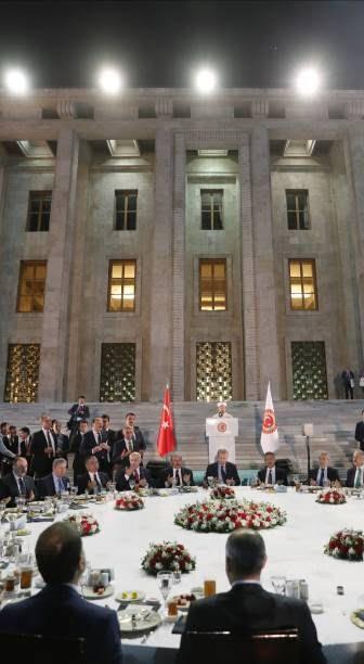 اردوغان2 - تصاویر/ مراسم افطاری تشریفاتی مقامات در ترکیه