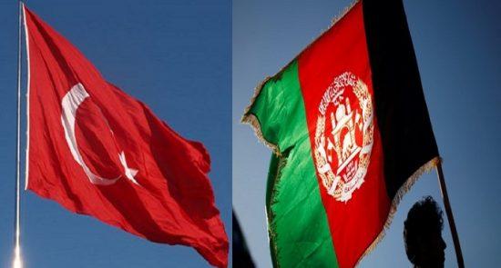 افغانستان ترکیه 550x295 - مساعدت ۴٫۵ ملیون دالری ترکیه به افغانستان