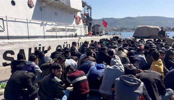 ترکیه مهاجر - دستگیر شدن صدها مهاجر غیرقانونی در ترکیه