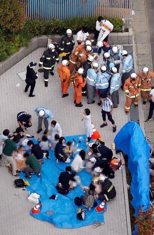 جاپان چاقو 5 - تصاویر/ حمله ای خونین به جمعی از کودکان در جاپان