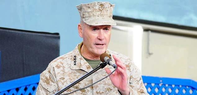 جنرال جوزف دنفورد - جنرال دنفورد خواستار تداوم حضور عساکر امریکایی در افغانستان شد