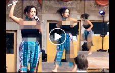 رقاصی فاحشه خواندن قرآن 18 226x145 - رقاصی یک فاحشه همراه با خواندن قرآن (18+)