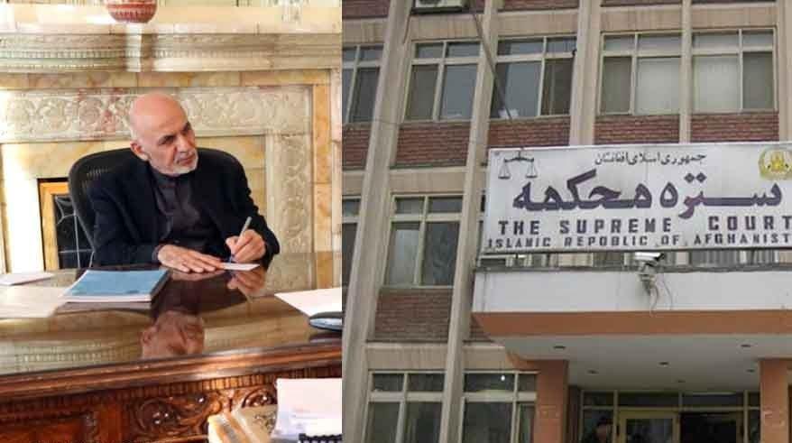 ستره محکمه - اعتراض شدید نامزدان ریاست جمهوری به حمایت ستره محکمه از اشرف غنی