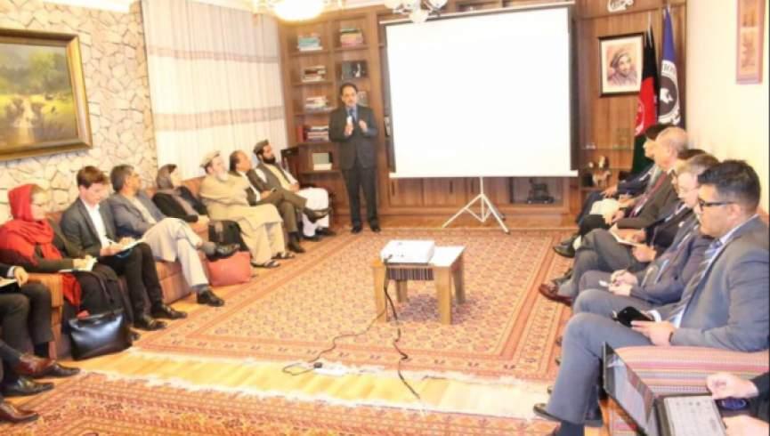 طرح سرپرستی حکومت - بررسی پلان سرپرستی حکومت با حضور داشت نماینده گان کشورهای خارجی مقیم کابل