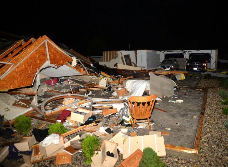 طوفان اوهایو امریکا 2 - تصاویر/ اوهایو امریکا غرق در تاریکی شد