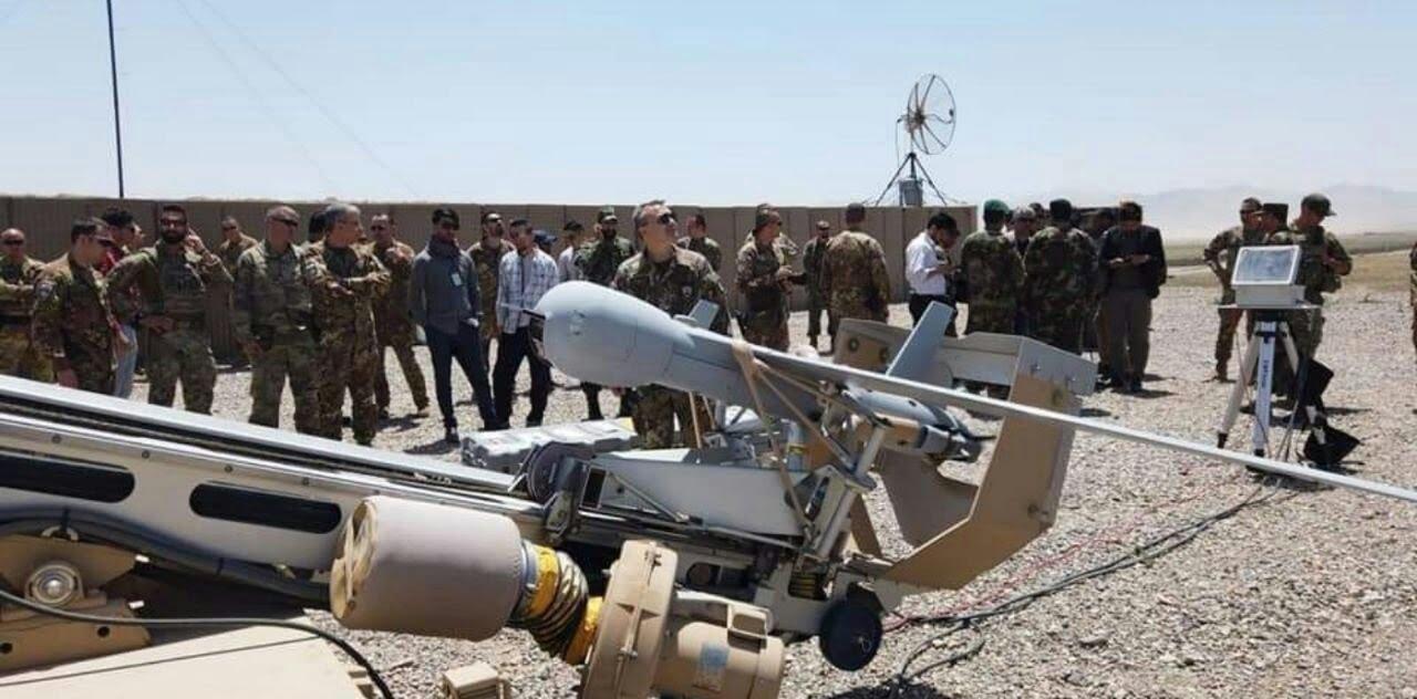 طیاره بی پیلوت - تجهیز قول اردوی 207 ظفر به طیارات بی پیلوت