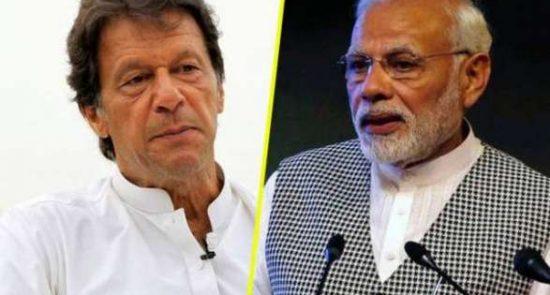 عمران خان مودی 550x295 - انتقاد شدید عمران خان از زیاده خواهی های حکومت هند