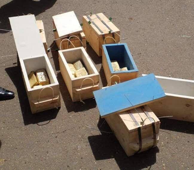 قاچاق طلا2 - تصاویر/ عملیات قاچاق طلا در آسمان متوقف شد