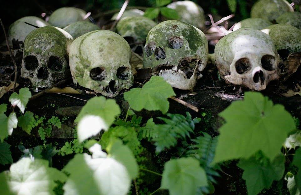 قبرستان7 - سنت ترسناک قریه نشینان اندونزیا برای مردگان + تصاویر(18+)