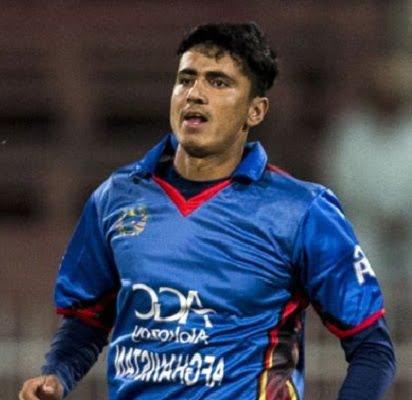مجیب زدران - مجیب زدران به تیم ملی کرکت پیوست