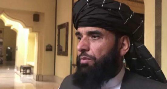 محمد سهیل شاهین 550x295 - هشدار شدید طالبان در پیوند به برگزاری انتخابات ریاست جمهوری