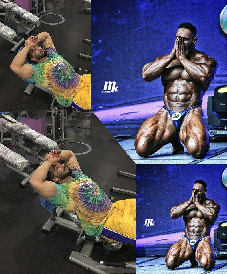 محمد یاسین سالک قادری - وداع آقای عضلات افغانستان با ورزش