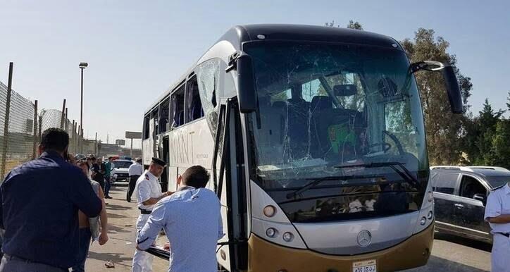 مصر1 - تصاویر/ انفجار بس گردشگران خارجی در مصر