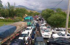 معترضان بغلانی 4 226x145 - تصاویر/ معترضان بغلانی در شاهراه کابل – شمال