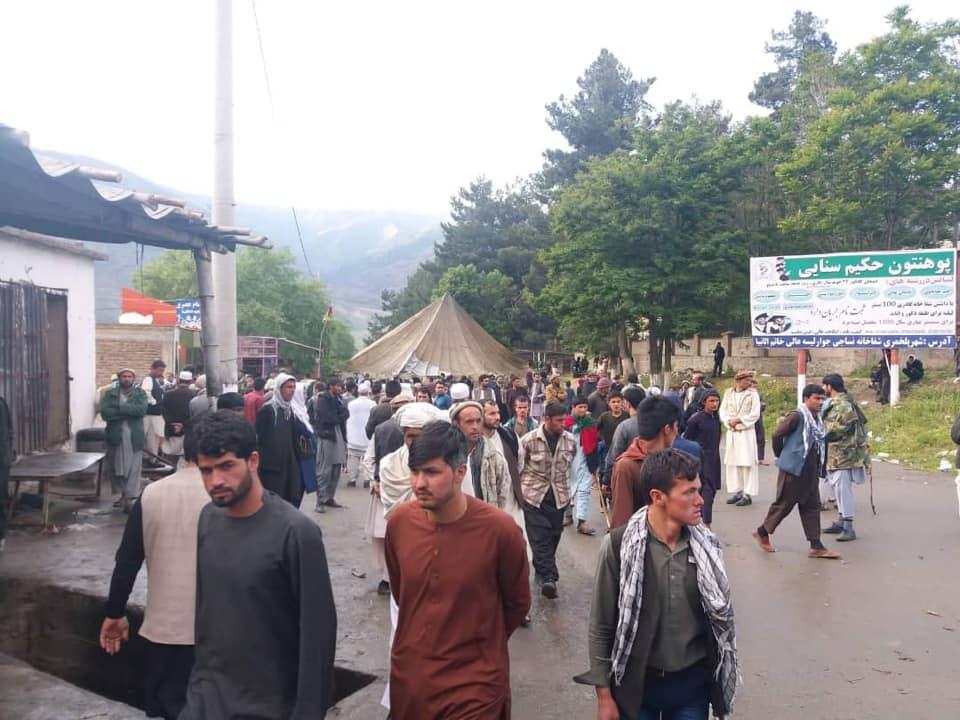 معترضان بغلانی 5 - تصاویر/ معترضان بغلانی در شاهراه کابل – شمال