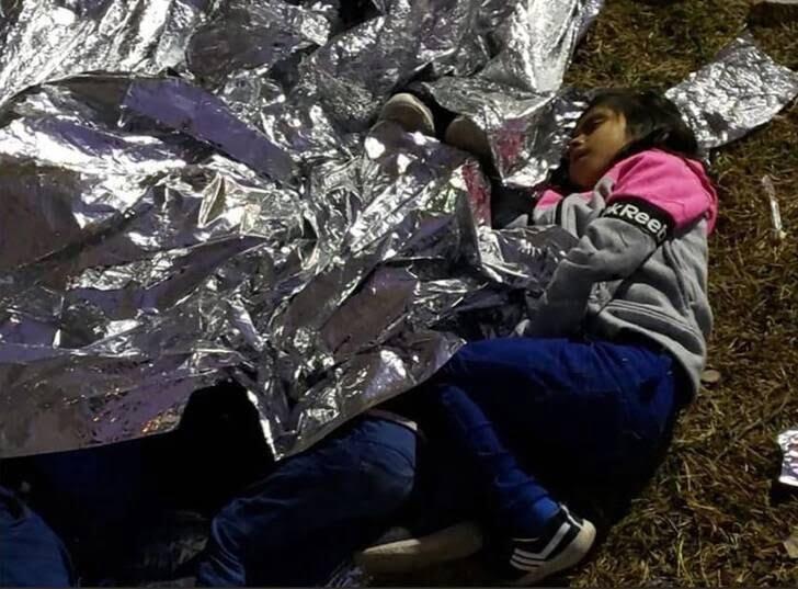 مهاجران3 - تصاویری از مصیبت های مهاجران در سرحدات امریکا