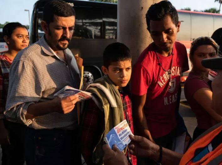مهاجران5 - تصاویری از مصیبت های مهاجران در سرحدات امریکا