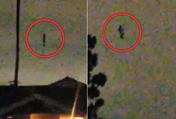 موجود عجیب - موجودی عجیب در آسمان کالیفورنیا مشاهده شد + عکس