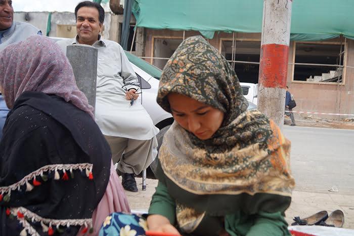 مینا نادری - خیمه تحصن نامزد انتخابات ولسی جرگه هنوز پابرجاست!