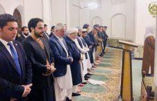 نماز تراویح 226x145 - تصویر/ اشتراک رییس جمهور غنی در نماز تراویح