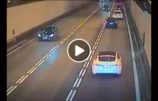 ویدیو تصادف مرگبار تونل 226x145 - ویدیو/ تصادف مرگبار در تونل